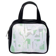 Abstract art Classic Handbags (One Side)