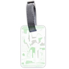 Abstract art Luggage Tags (One Side)