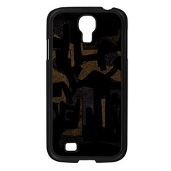Abstract art Samsung Galaxy S4 I9500/ I9505 Case (Black)