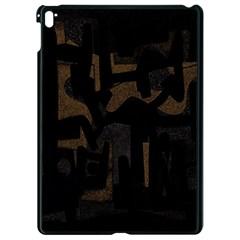 Abstract Art Apple Ipad Pro 9 7   Black Seamless Case