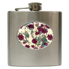 Floral Dreams 10 Hip Flask (6 oz)