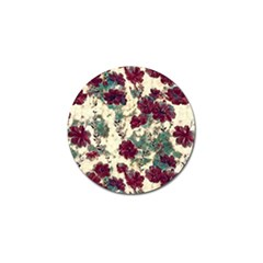 Floral Dreams 10 Golf Ball Marker (4 pack)