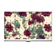 Floral Dreams 10 Business Card Holders