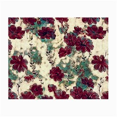 Floral Dreams 10 Small Glasses Cloth (2-Side)