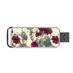 Floral Dreams 10 Portable USB Flash (Two Sides)