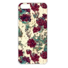 Floral Dreams 10 Apple iPhone 5 Seamless Case (White)