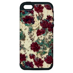 Floral Dreams 10 Apple iPhone 5 Hardshell Case (PC+Silicone)