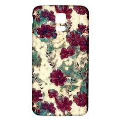 Floral Dreams 10 Samsung Galaxy S5 Back Case (White)