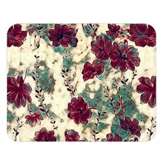 Floral Dreams 10 Double Sided Flano Blanket (Large)