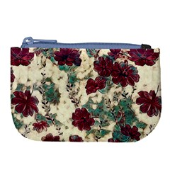 Floral Dreams 10 Large Coin Purse