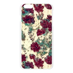 Floral Dreams 10 Apple Seamless iPhone 6 Plus/6S Plus Case (Transparent)