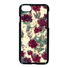Floral Dreams 10 Apple iPhone 7 Seamless Case (Black)