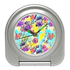 Floral Dreams 12 Travel Alarm Clocks