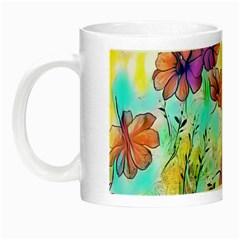 Floral Dreams 12 Night Luminous Mugs