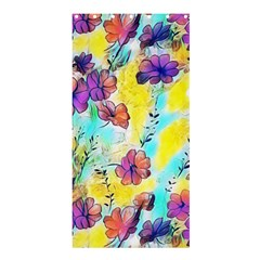Floral Dreams 12 Shower Curtain 36  x 72  (Stall)