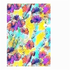 Floral Dreams 12 Small Garden Flag (Two Sides)