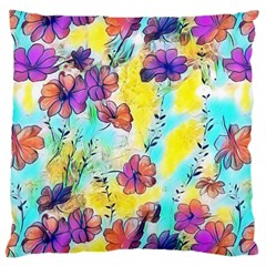 Floral Dreams 12 Large Cushion Case (Two Sides)