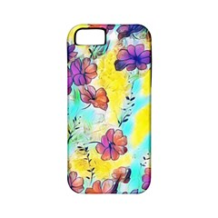 Floral Dreams 12 Apple iPhone 5 Classic Hardshell Case (PC+Silicone)