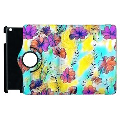 Floral Dreams 12 Apple iPad 2 Flip 360 Case
