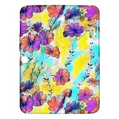 Floral Dreams 12 Samsung Galaxy Tab 3 (10.1 ) P5200 Hardshell Case