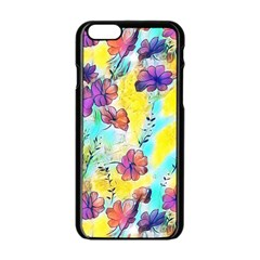 Floral Dreams 12 Apple iPhone 6/6S Black Enamel Case