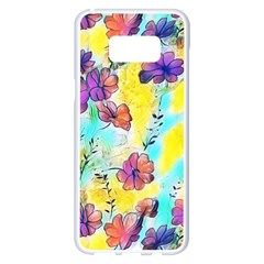 Floral Dreams 12 Samsung Galaxy S8 Plus White Seamless Case