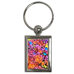 Floral Dreams 15 Key Chains (Rectangle)