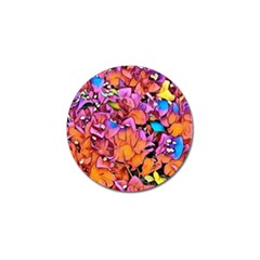 Floral Dreams 15 Golf Ball Marker