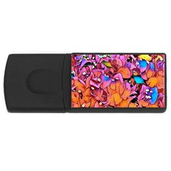 Floral Dreams 15 USB Flash Drive Rectangular (2 GB)