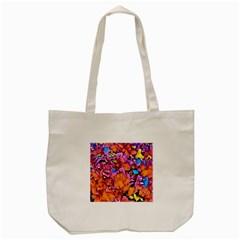 Floral Dreams 15 Tote Bag (Cream)