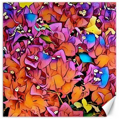 Floral Dreams 15 Canvas 12  x 12