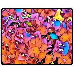 Floral Dreams 15 Fleece Blanket (Medium)