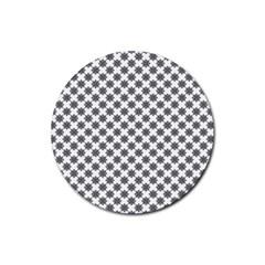 Pattern Rubber Coaster (Round)