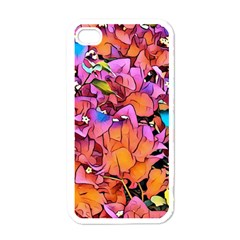 Floral Dreams 15 Apple iPhone 4 Case (White)
