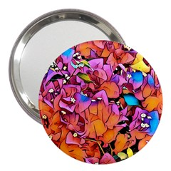 Floral Dreams 15 3  Handbag Mirrors
