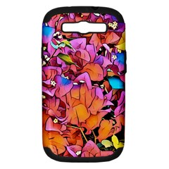 Floral Dreams 15 Samsung Galaxy S III Hardshell Case (PC+Silicone)