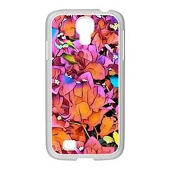 Floral Dreams 15 Samsung GALAXY S4 I9500/ I9505 Case (White)