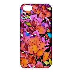 Floral Dreams 15 Apple iPhone 5C Hardshell Case