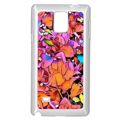 Floral Dreams 15 Samsung Galaxy Note 4 Case (white)