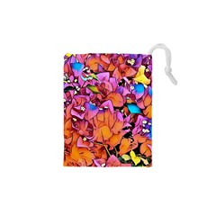 Floral Dreams 15 Drawstring Pouches (XS)