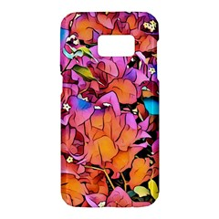 Floral Dreams 15 Samsung Galaxy S7 Hardshell Case