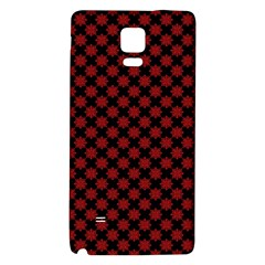 Pattern Galaxy Note 4 Back Case