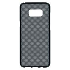 Pattern Samsung Galaxy S8 Plus Black Seamless Case