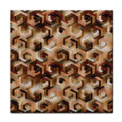 Pattern Factory 23 Brown Tile Coasters