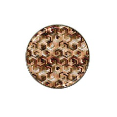 Pattern Factory 23 Brown Hat Clip Ball Marker