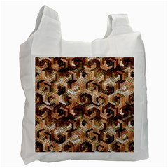 Pattern Factory 23 Brown Recycle Bag (One Side)