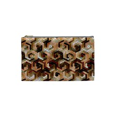 Pattern Factory 23 Brown Cosmetic Bag (Small)