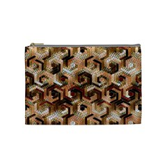 Pattern Factory 23 Brown Cosmetic Bag (Medium)