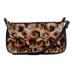 Pattern Factory 23 Brown Shoulder Clutch Bags