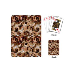 Pattern Factory 23 Brown Playing Cards (Mini)